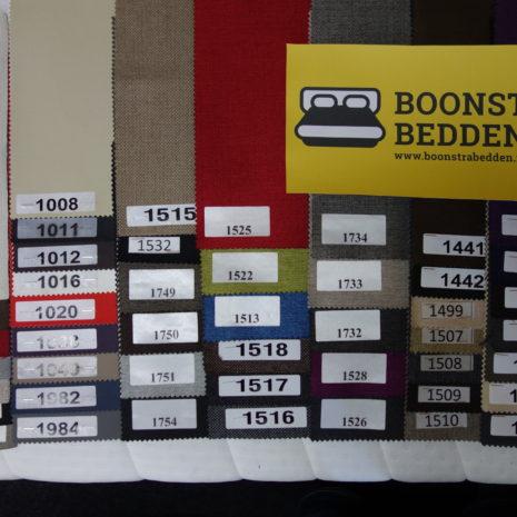 Kleurcodes boxspring onderstel