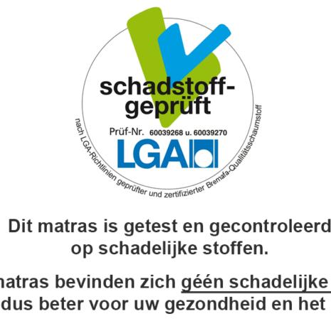 Het LGA certificaat