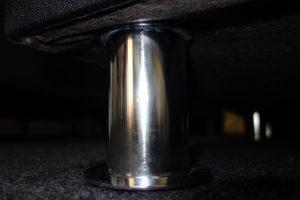 Metalen boxspring poten